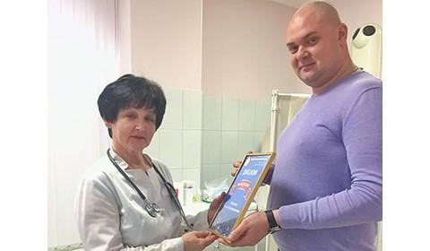 Победитель голосования Врач ЦСМ 2019