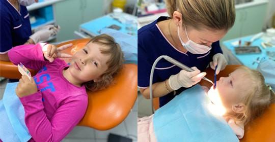 Наши маленькие пациенты на приеме у детского стоматолога Колейчик Виктории Леонидовны